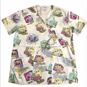 *2/$20* The Muppet Show Scrub Top